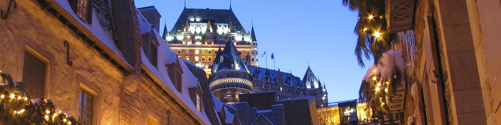 Ville de Québec | Chateau Frontenac