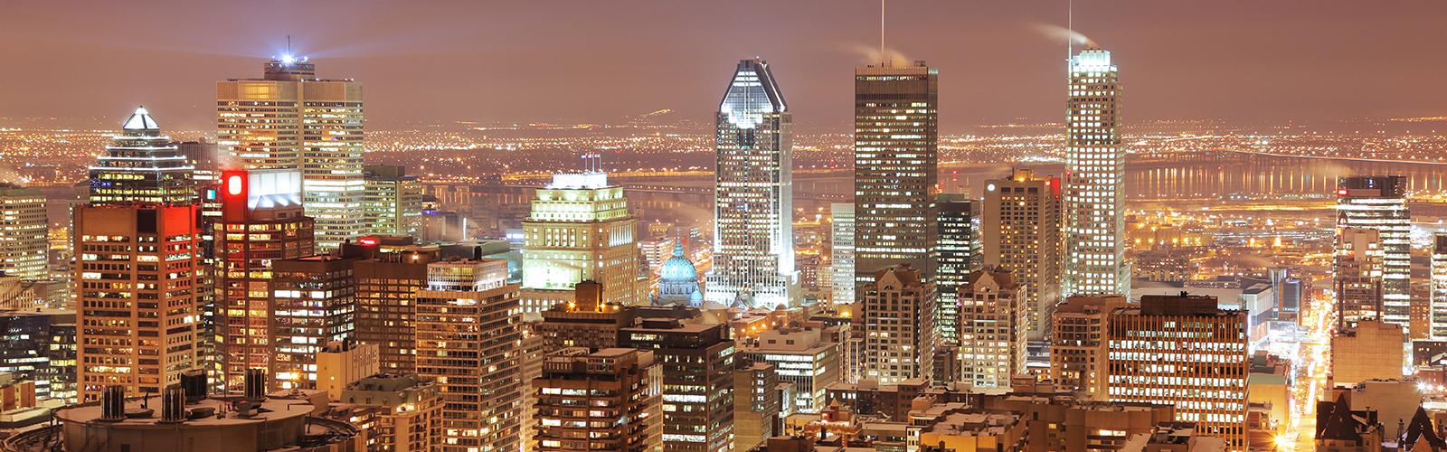 Montréal, Ville de Lumières